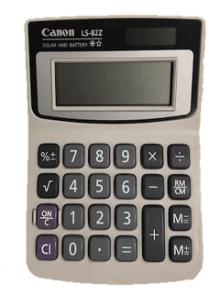 Canon calculator